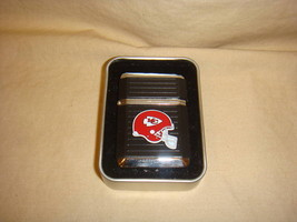 Kansas City Chiefs Black Torch Lighter W/ Case Nfl New - $9.95