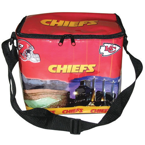KANSAS CITY CHIEFS COOLER BAG ICE CHEST LUNCH BOX NFL