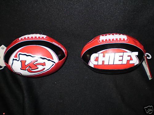 "KANSAS CITY CHIEFS FOOTBALL 6"" SOFTEE FOOTBALL NFL"
