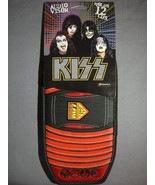 KISS ARMY LOGO AUDIO CD CAR VISOR NEW ROCK AND ROLL DISC HOLDER - $4.90
