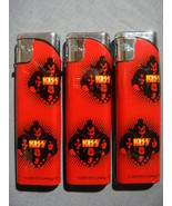 KISS HOTTER THAN HELL SLIM LIGHTER SET OF 3 NEW - $3.95
