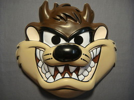 Looney Tunes Tazmanian Devil Halloween Mask Pvc New - $9.95