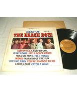 Beach Boys-Best of the Beach Boys (LP Record 1970's) RARE US - $38.95
