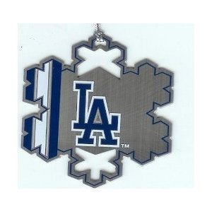 LOS ANGELES DODGERS ORNAMENT SNOWFLAKE MLB NEW