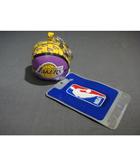 LOS ANGELES LAKERS HACKY SACK / FOOTBAG STYLE KEYCHAIN - $3.95