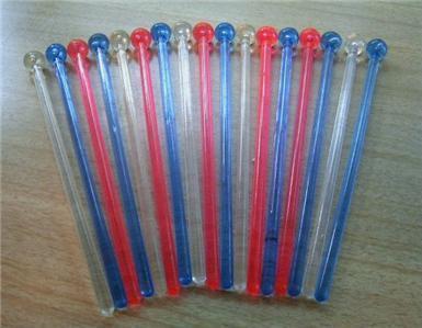 18 Retro 60's MoD BUBBLE Tip SWIZZLE Stick Collection!!