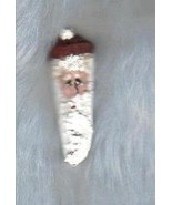 Handpainted Santa Pin on Pinecone Kernel, Unique Jewelry - $5.00