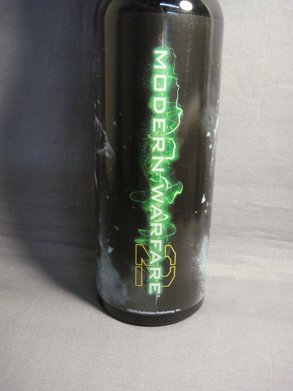 MODERN WARFARE 2 WATER BOTTLE STAINLESS STEEL BPA FREE