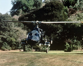Airwolf 16x20 Canvas Giclee Bell 222 Helicopter Taking Off - $69.99