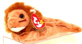 TY BEANIE BABIES 1996 COLLECTIBLE – Roary the Lion – RETIRED - MWMT - $13.37