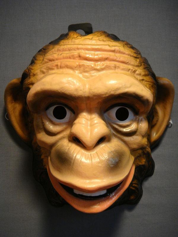 MONKEY SAFARI JUNGLE ZOO ANIMAL HALLOWEEN MASK PVC NEW