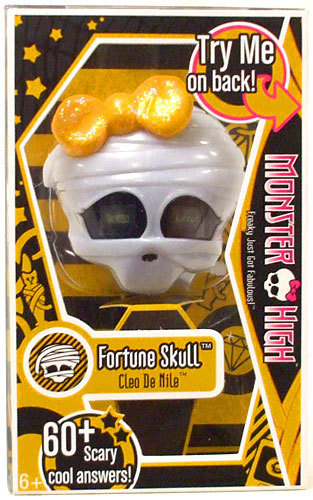 MONSTER HIGH CLEO DE NILE FORTUNE SKULL NEW