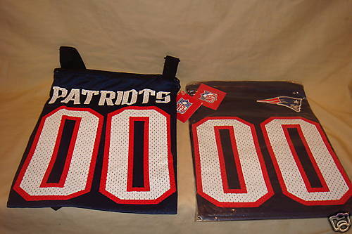 NEW ENGLAND PATRIOTS JERSEY PURSE LITTLE EARTH NFL NEW