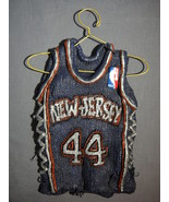 NEW JERSEY NETS KEITH VAN HORN JERSEY STAR HANGERS NEW - $9.95
