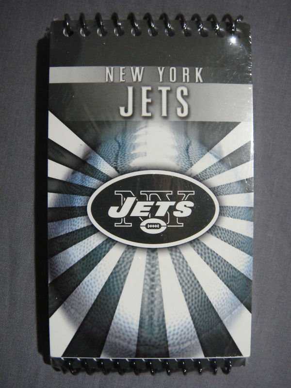NEW YORK JETS MINI 3x5 MEMO NOTEPAD 3 PACK NFL NEW