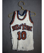 NEW YORK KNICKS WALT FRAZIER JERSEY STAR HANGERS NEW - $12.95