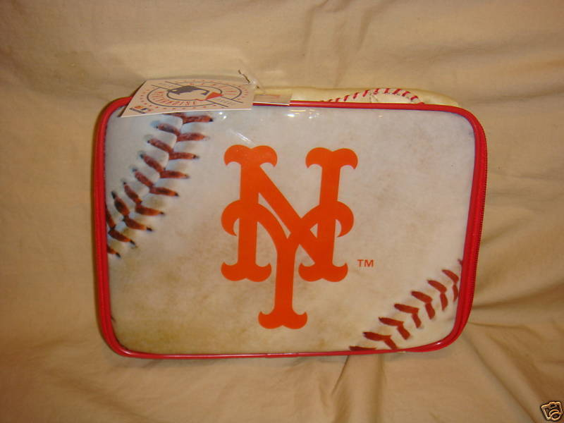 NEW YORK METS LUNCH BOX BAG MLB LUNCHBOX NEW