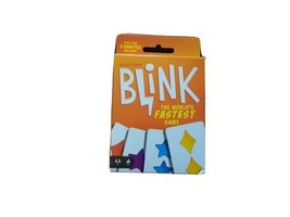 Blink Card Game The Worlds Fastest Mattel Game Reinhard Taupe Brand New - $12.32