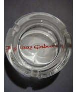 OZZY OSBOURNE LOGO GLASS ASHTRAY NEW - $9.95