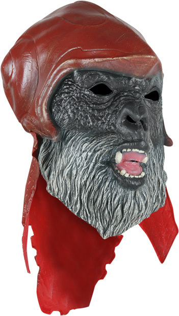 PLANET OF THE APES GORILLA MASK HALLOWEEN LATEX MASK