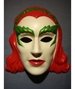 POISON IVY MASK BATMAN & ROBIN PVC MASK NEW HTF - $5.95