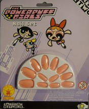 THE POWERPUFF GIRLS BLOSSOM PEEL & STICK PINK NAIL SET - $3.95