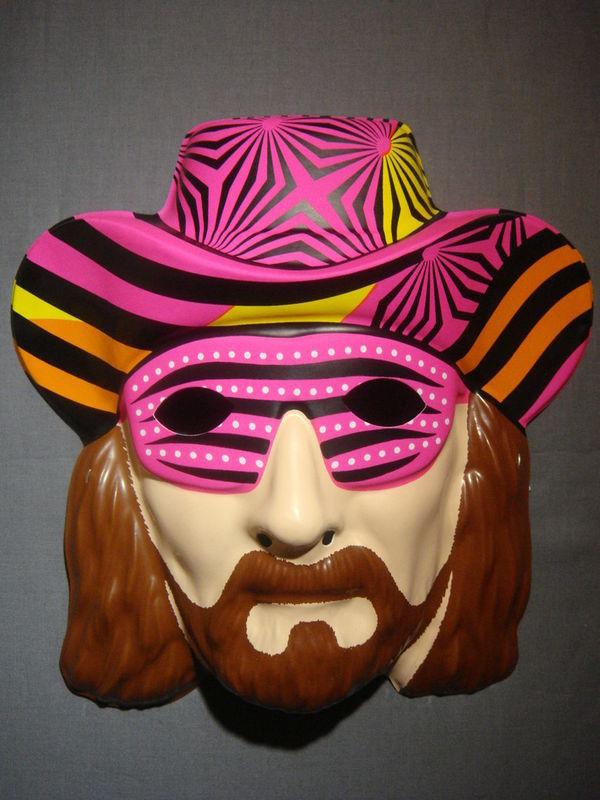 RANDY MACHO MAN SAVAGE WCW WWE WRESTLER PVC MASK
