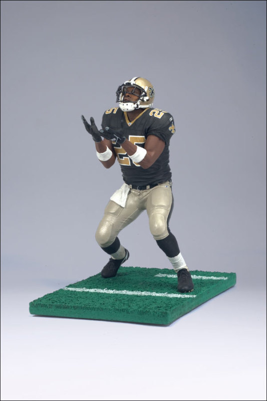 REGGIE BUSH #25 MCFARLANE FIGURE SERIES 14 SAINTS BLACK