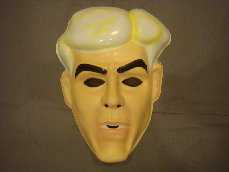 RIC FLAIR MASK PVC NEW WWE WCW WRESTLER MASK
