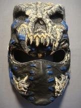 Sabre Skull Ninja Halloween Mask Pvc New - $5.95