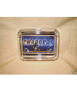 SAN DIEGO CHARGERS ASHTRAY GLASS NFL FOOTBALL - $9.95
