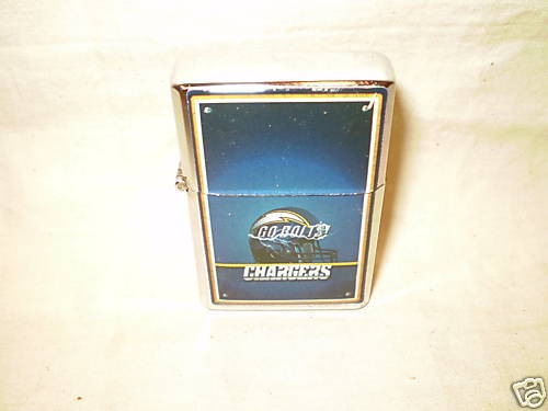 SAN DIEGO CHARGERS LIGHTER DOUBLE TORCH LIGHTER NEW