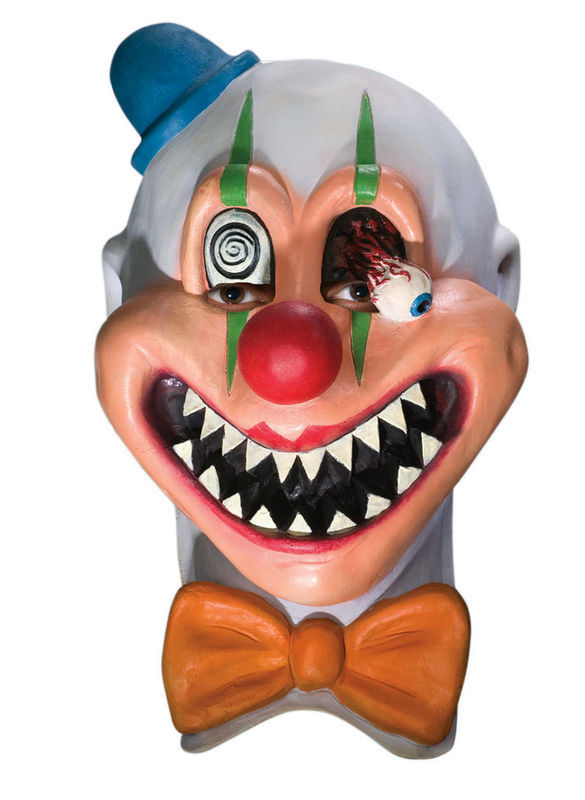 SAW TOOTH EVIL DEMON HALLOWEEN MASK ADULT LATEX NEW