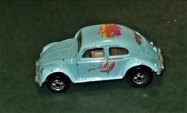 Hot Wheels ~ VW Bug ~ Enamel Turquoise, 1988 - $2.95