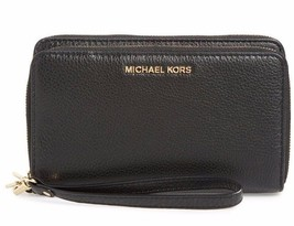 NWT Michael Kors Adele Leather Wristlet Hot Popular Authentic Cute 32H5GAFE1L - $130.00