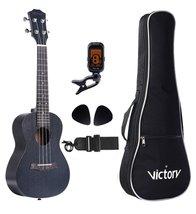 VIVICTORY Ukulele Mahogany Aquila String Beginner Kit-Black - $55.99+