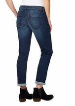 NEW Calvin Klein Women's Slim Boyfriend Blue Inkwell Jeans Sizes 2 4 8 12 image 2