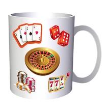 Casino Game Lottery Win Success Gift 11oz Mug e928 - $203,52 MXN