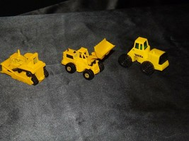 Die-cast Heavy Construction Equipment AA19-1511 Vintage (3 Pieces)