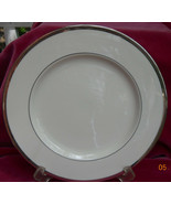 THEODORE HAVILAND NEW YORK SHELTON SALAD PLATE S PLATINUM TRIM - $19.34
