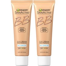 Garnier Skin Skinactive Bb Cream Oil-Free Face Moisturizer, Light/Medium... - $22.63