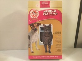 NEW OPEN BOX IDEAL MEDIUM PET FLAP CATS OR DOGS.  GRN - $27.71