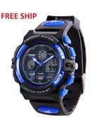 Fashion Kids Boys Digital Watches LED Waterproof Sports Wrist watch For ... - $22.99