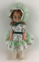 Uneeda Tiny Treasures Baby Doll Vintage 60s Red Gold Hair Sleepy Blue Eyes Toy - $20.45