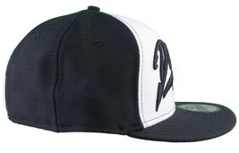 Dissizit 59Fifty NEW ERA Ajusté Funking It Up Casquette / Chapeau Noir Blanc image 3