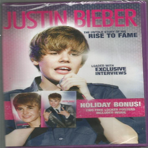 Justin Bieber: The Untold Story of His Rise to Fame Dvd