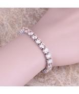 Silver 925 Morganite  23.27ct Tennis Bracelet - $34.82