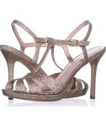 Kate Spade New York Feodora T-Strap Dress Sandals 209, Gold Fine Glitter... - $62.39