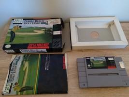 Super Nintendo SNES True Golf Classics: Pebble Beach Golf Links ~ COMPLETE image 2