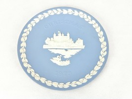 "Vintage Wedgewood Tower of London 8"" Plate Made In England Christmas 1973 - $9.75"